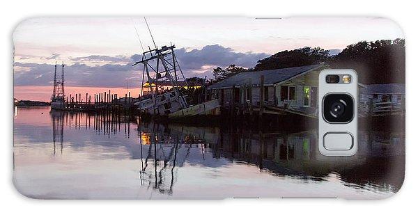 Sinking Sun Sunken Boat Galaxy Case by Alan Raasch