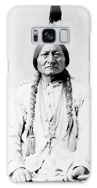 Sioux Chief Sitting Bull Galaxy Case