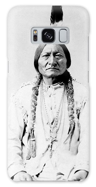 Native American Galaxy Case - Sioux Chief Sitting Bull by War Is Hell Store