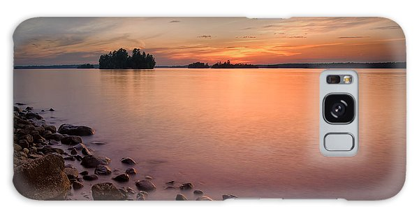 Sioux Narrows Sunset Galaxy Case