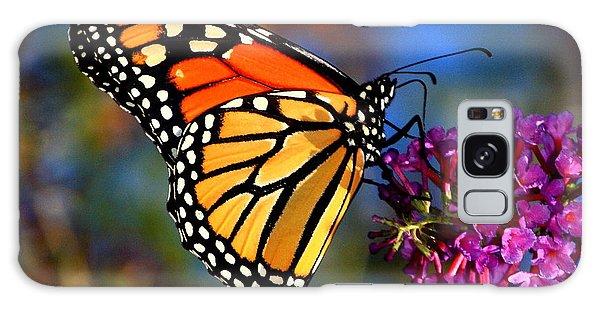 Sipping Monarch Galaxy Case