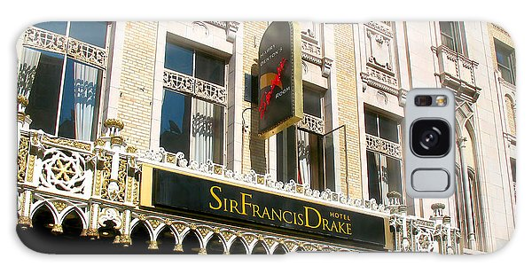 Sir Francis Drake Hotel Galaxy Case by Connie Fox