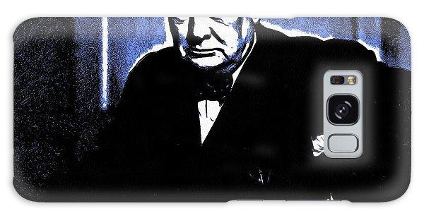 Sir Winston Churchill Galaxy Case