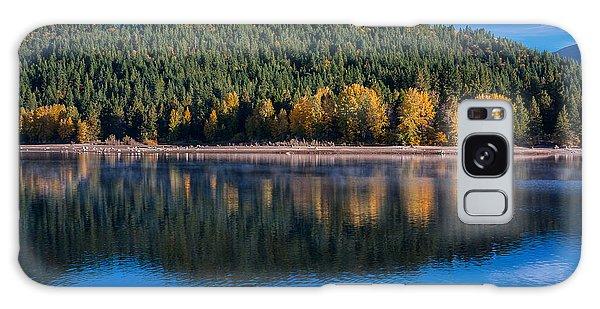 Siskiyou Lake Shoreline Galaxy Case by Greg Nyquist