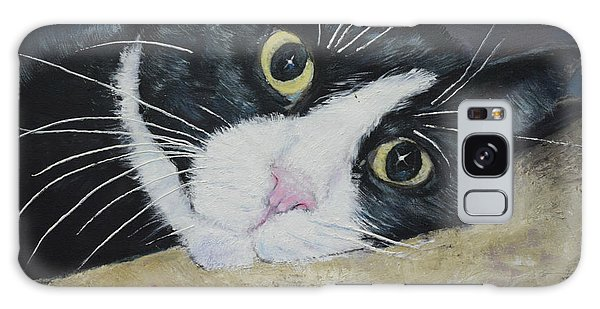 Sissi The Cat 3 Galaxy Case