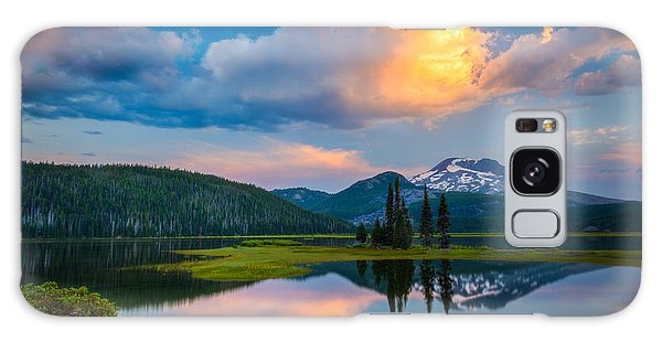 Sister Sunrise At Sparks Lake Galaxy Case