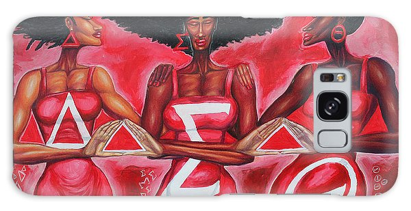 Earring Galaxy Case - Sisterly Love Delta Sigma Theta by The Art of DionJa'Y