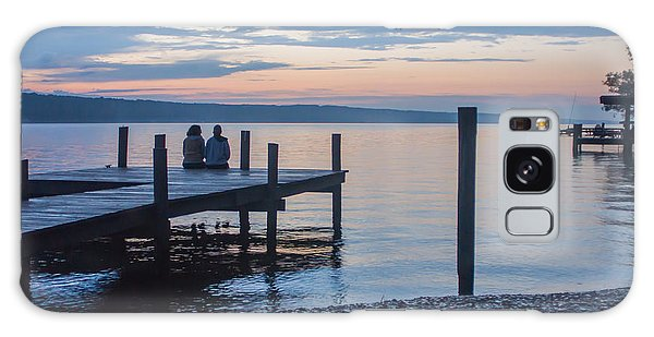 Sisters - Lakeside Living At Sunset Galaxy Case