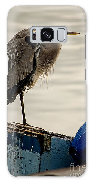 Sittin' On The Dock Of The Bay Galaxy Case by Donna Greene