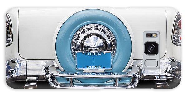Dual Exhaust Galaxy Case - Sittin Pretty 1956 Chevrolet Convertible by Rich Franco