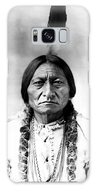 Native American Galaxy Case - Sitting Bull by Bill Cannon
