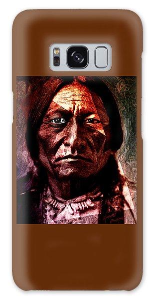 Sitting Bull - Warrior - Medicine Man Galaxy Case
