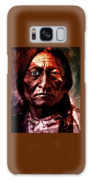 Sitting Bull - Warrior - Medicine Man Galaxy Case