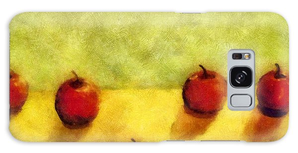 Six Apples Galaxy Case