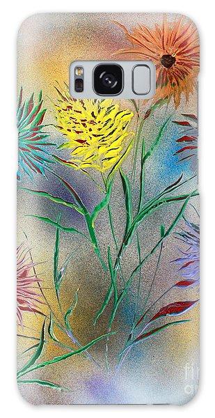 Six Flowers Galaxy Case