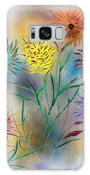 Six Flowers Galaxy Case by Greg Moores