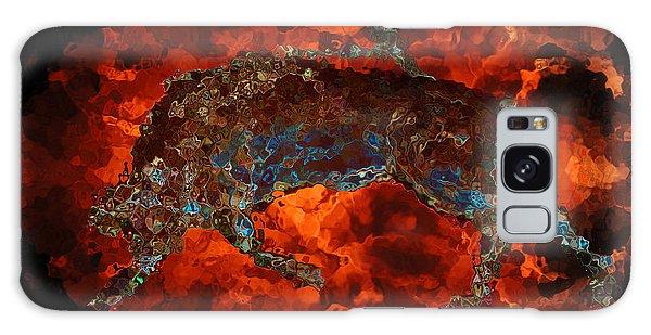 Sizzle Galaxy Case by Stuart Turnbull
