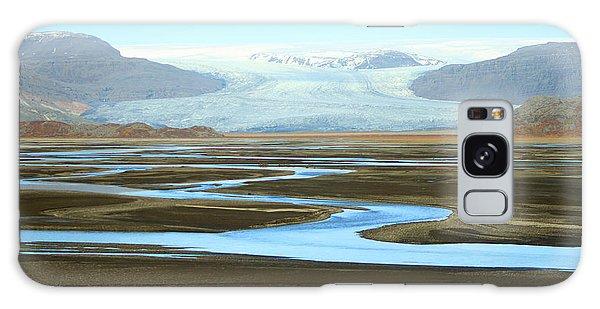 Skaftafell Glacier Galaxy Case