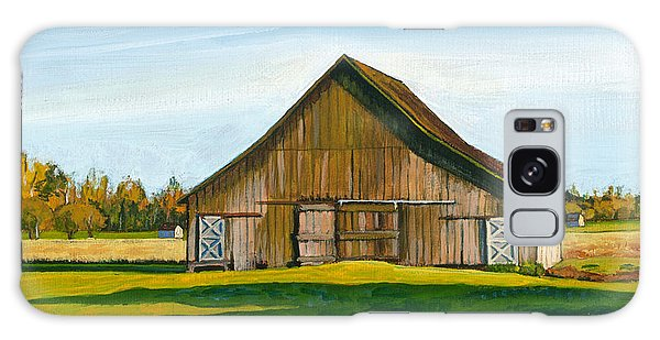 Skagit Valley Barn #3 Galaxy Case