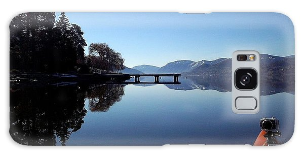 Skaha Lake Calm 2 Galaxy Case by Guy Hoffman