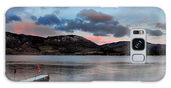 Skaha Lake Panorama 02-19-2014 Galaxy Case