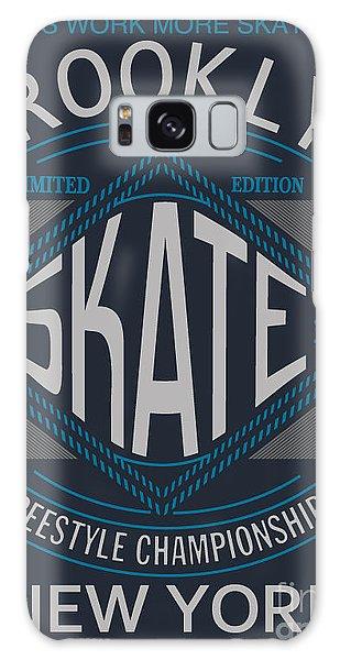 Board Galaxy Case - Skate Board Typography, T-shirt by Braingraph