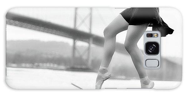 Ballerina Galaxy Case - Skater Girl by Howard Ashton-jones