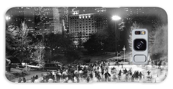 New York City - Skating Rink - Monochrome Galaxy Case by Dave Beckerman