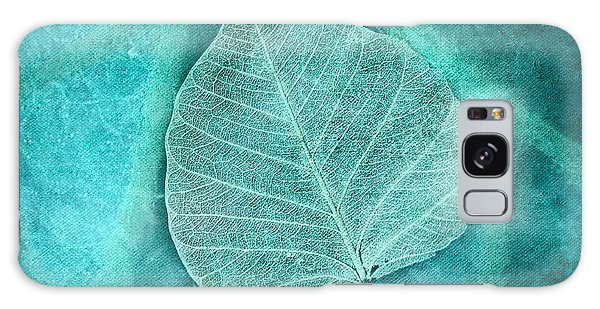 Skeletal Leaf Galaxy Case by Bonnie Bruno