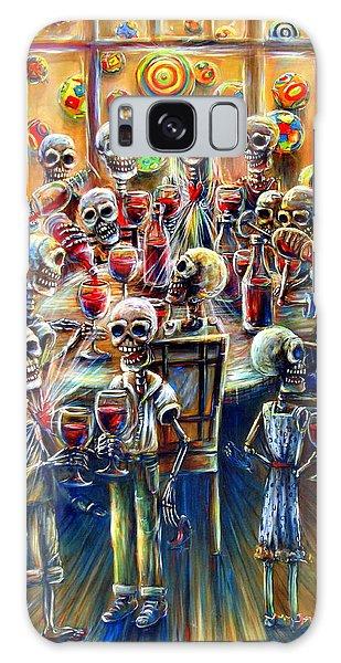 Skeleton Wine Party Galaxy Case