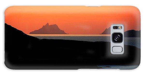 Skellig Islands  Galaxy Case by Aidan Moran