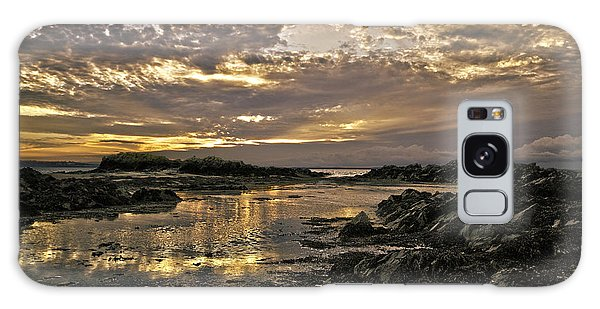 Skerries Sunset Galaxy Case by Martina Fagan