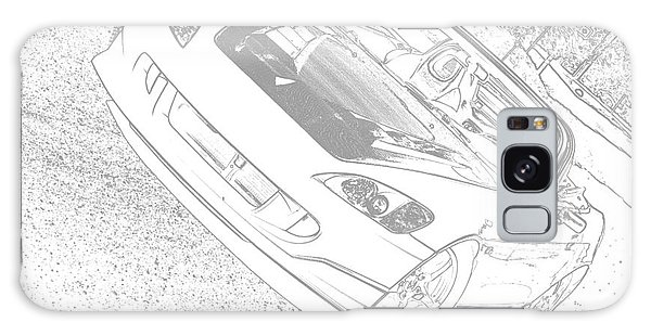 Sketched S2000 Galaxy Case by Eric Liller