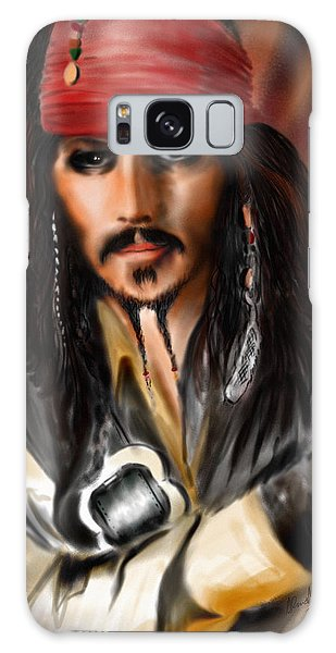 Sketching A Pirate... Galaxy Case
