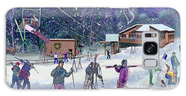 Ski Area Campton Mountain Galaxy Case