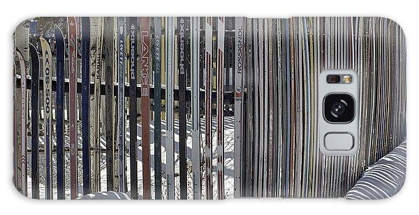 Ski Fence Galaxy Case