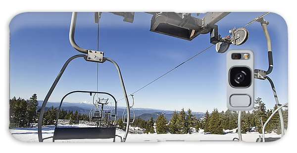 Ski Lifts At Mount Hood In Oreon Galaxy Case