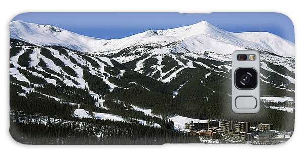 Physical Galaxy Case - Ski Resorts In Front Of A Mountain by Panoramic Images