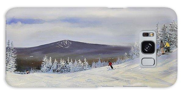Ski Talk Galaxy Case by Ken Ahlering
