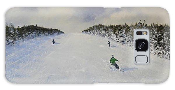 Ski The Meadow Galaxy Case by Ken Ahlering