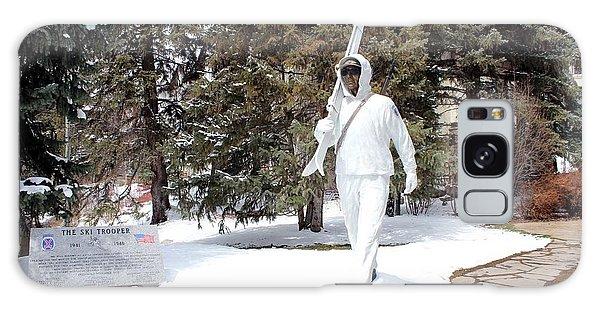 Ski Trooper Galaxy Case by Fiona Kennard
