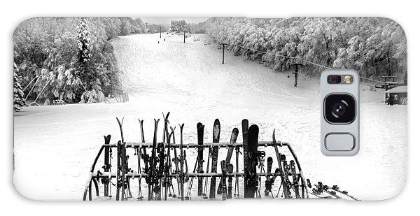 Ski Vermont At Middlebury Snow Bowl Galaxy Case