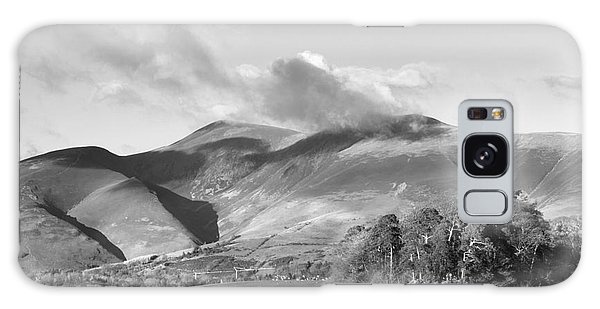 Skiddaw And Friars Crag Mountainscape Galaxy Case