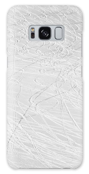 Skier's Abstract Galaxy Case