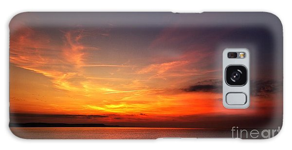 Skies On Fire Galaxy Case by Stephen Melia