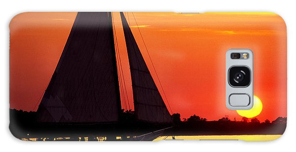 Skipjack At Sunset Galaxy Case