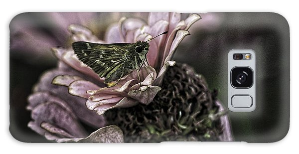Galaxy Case featuring the photograph Skipper On Flower by Donald Brown