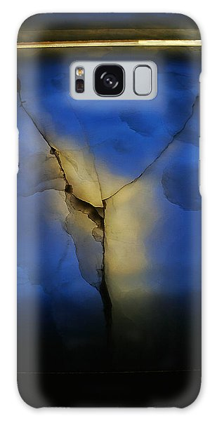Skc 0243 Cracked Y Galaxy Case by Sunil Kapadia