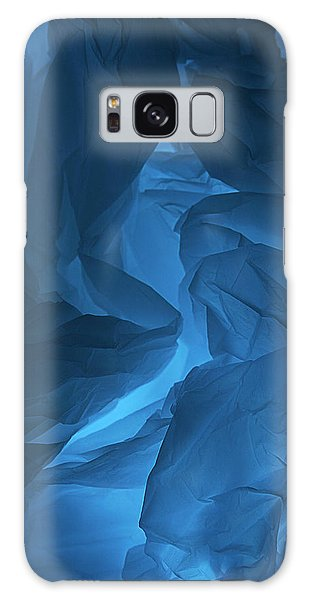 Skc 0247 Mystery In Blue Galaxy Case