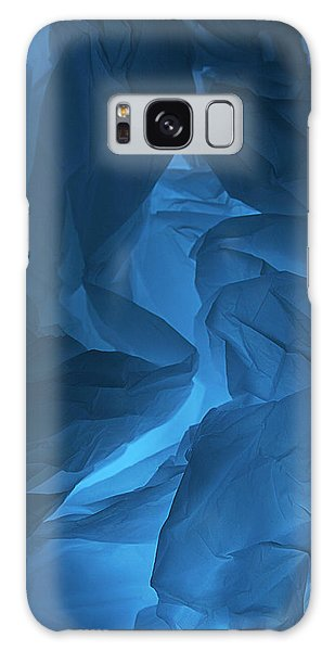 Skc 0247 A Mystery In Blue Galaxy Case by Sunil Kapadia